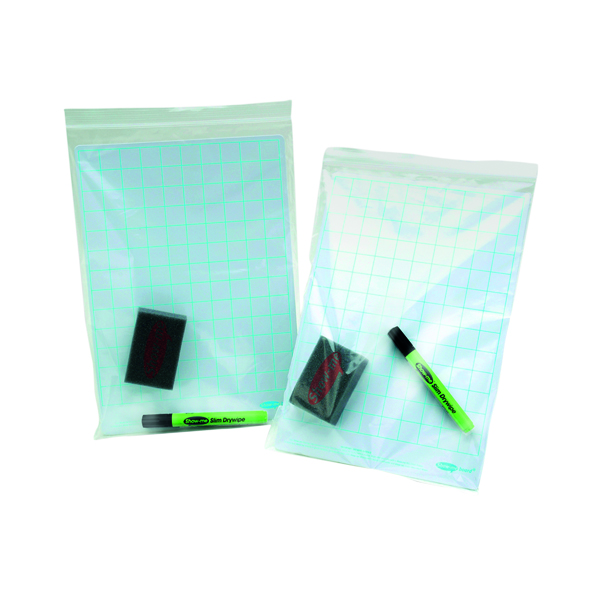 Show-me Grip Seal Bags A4 (Pack of 100) GA4