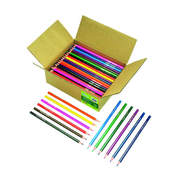 ReCreate Treesaver Recycled Colouring Pencils (Pack of 144) TREE144COL