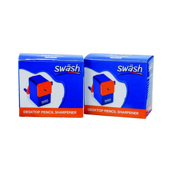 Swash Desktop Pencil Sharpener (Pack of 2) EG841001