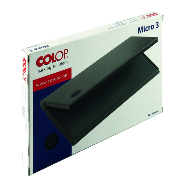 COLOP Micro 3 Stamp Pad Black MICRO3BK