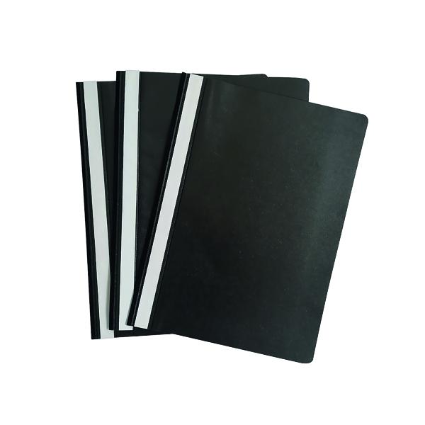 Graffico Project Folder A4 Black (Pack of 100) EN06041