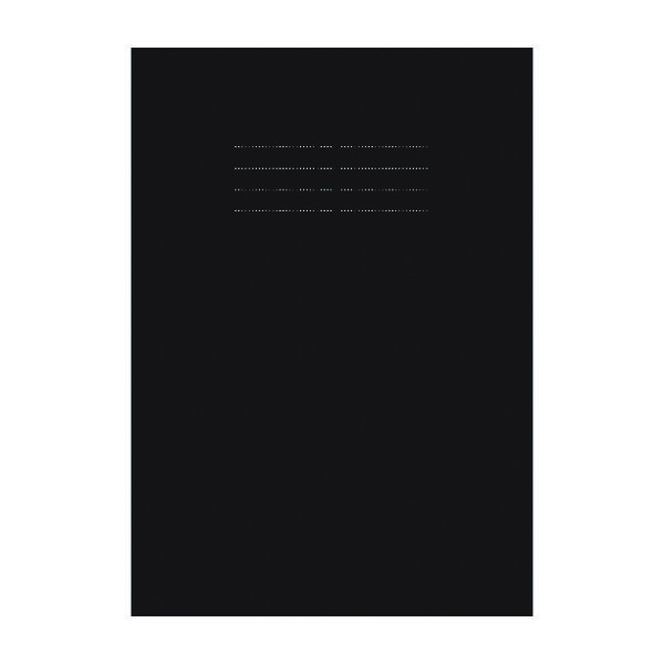 Nu Education Sketchbook A4 Black (Pack of 50) NU602007