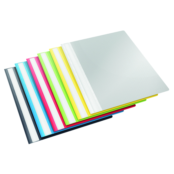 Esselte Report File A4 Assorted (Pack of 25) 15449
