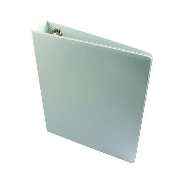 Esselte 40mm 4 D-Ring Presentation Binder A4 White 49704