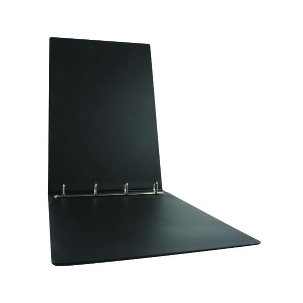 Esselte 4 O-Ring Binder 25mm Polypropylene Landscape A3 Black 68737