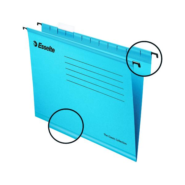 Esselte Classic A4 Blue Suspension File (Pack of 25) 90311