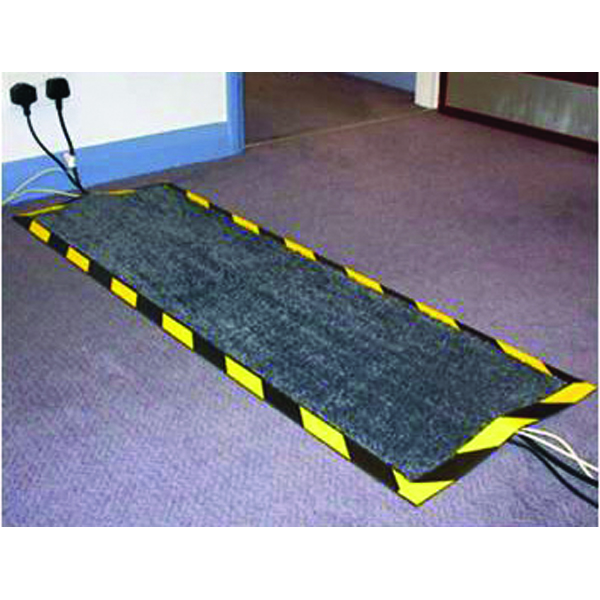 Floortex Kable Mat 400x1200mm Black FCKAB40120