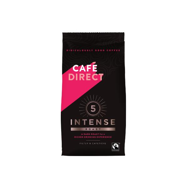 Cafedirect Intense Roast Ground Coffee 227g FCR0003