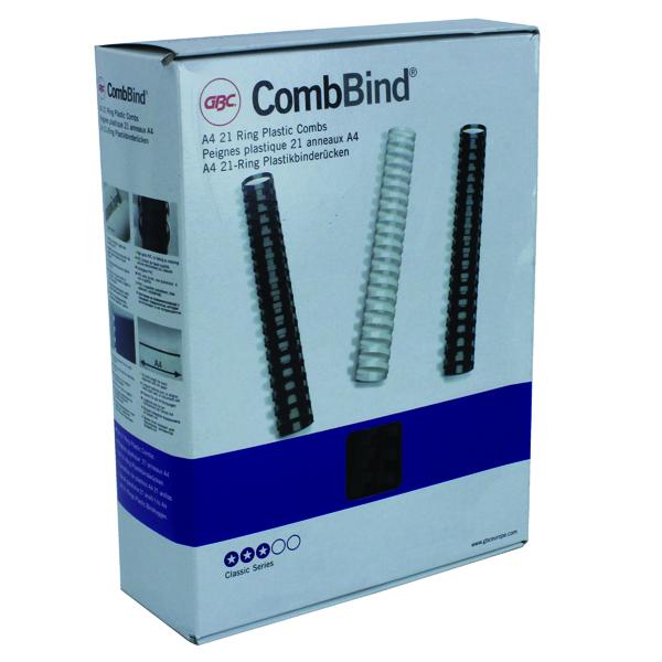 GBC Black 16mm Binding Comb 4028600 P100