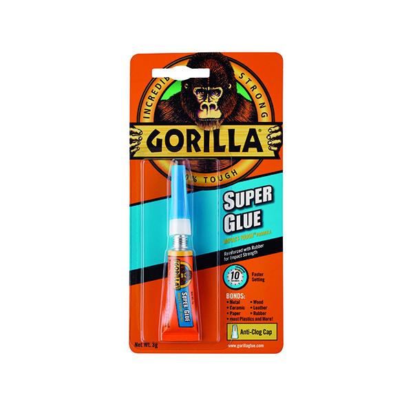 Gorilla Super Glue Waterproof 3g Tube 4044301