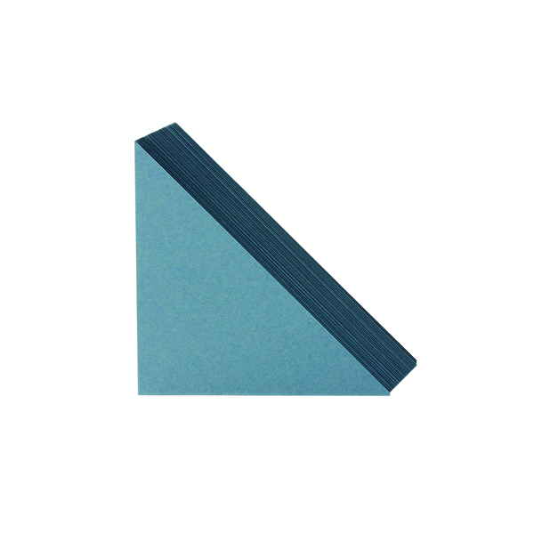 Exacompta Guildhall Legal Corners 315gsm Blue (Pack of 100) GLC-BLU