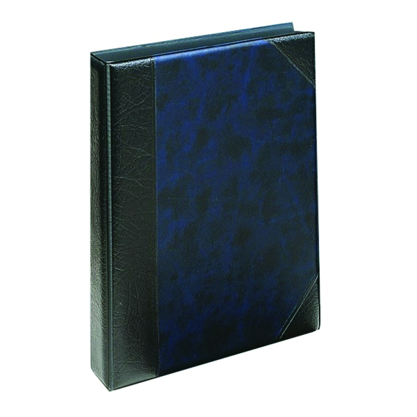 Exacompta Guildhall Telephone Address Book A5 Blue (A - Z index included) DTAA5/BL
