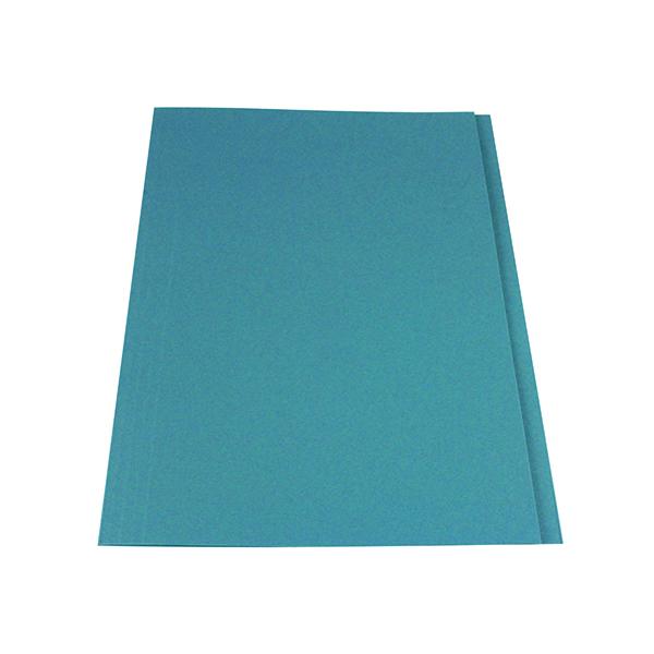 Exacompta Guildhall Square Cut Folder 315gsm Foolscap Blue (Pack of 100) FS315-BLUZ