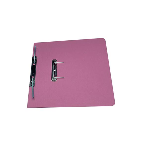 Exacompta Guildhall Transfer Spiral File 315gsm Foolscap Pink (Pack of 50) 348-PNK