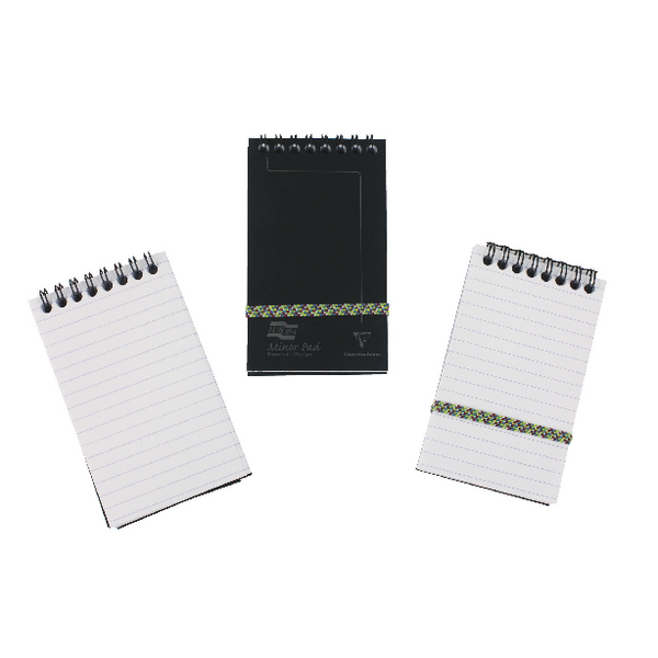 Clairefontaine Europa Minor Notemaker 127x76mm Black (Pack of 10) 3012