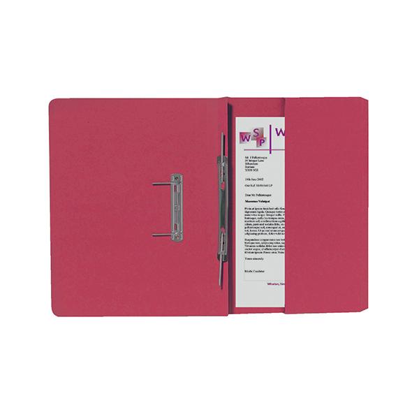 Exacompta Guildhall Right Hand Transfer Spiral Pocket File 315gsm FC Orange (Pack of 25) 211/9063Z