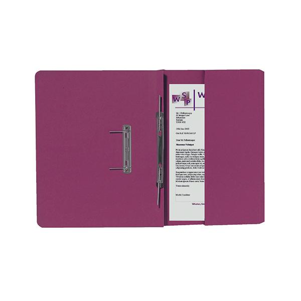 Exacompta Guildhall R/Hand Transfer Spiral Pocket File 315gsm FC Red (Pack of 25) 211/9065Z