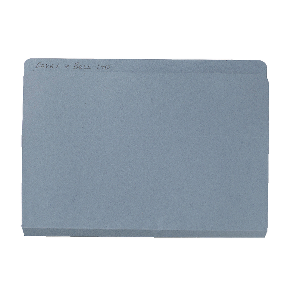 Exacompta Guildhall Open Top Wallet 315gsm Blue (Pack of 50) OTW-BLUZ