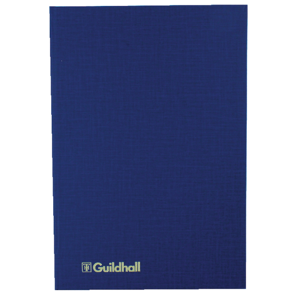 Exacompta Guildhall Account Book 80 Pages 6 Cash Columns 31/6 1018