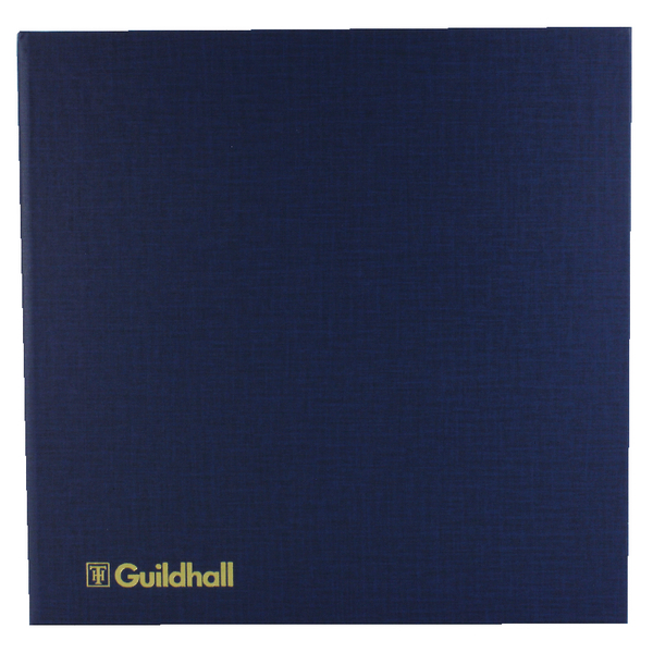 Exacompta Guildhall Account Book 80 Pages 14 Cash Columns 51/14 1332