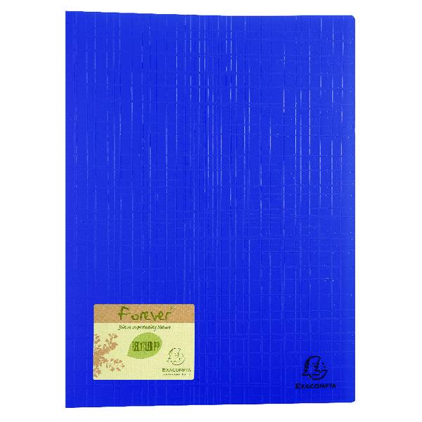 Exacompta Forever Display Book 40 Pocket Blue (Pack of 12) 884572E