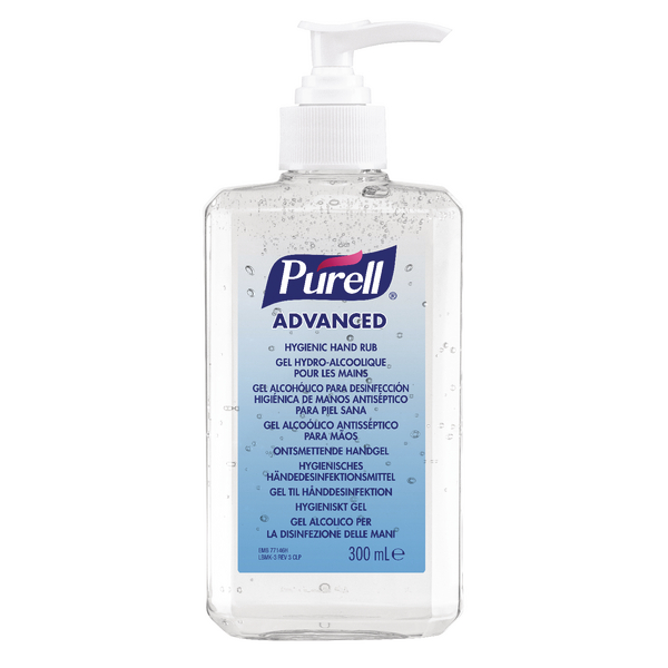 Purell Advanced Hygienic Hand Rub 300ml 9263-12-EEU00