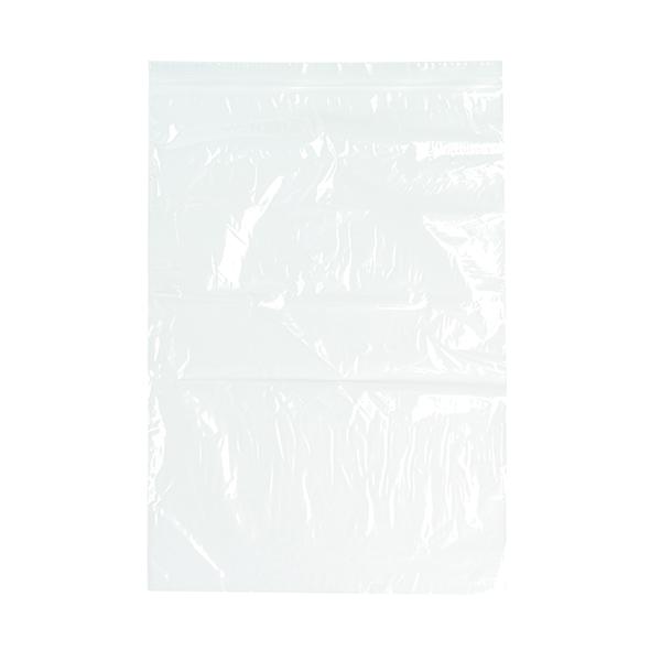1000 x Clear Minigrip Bag 255x355mm (Interlocking seal for secure closure) GL-14
