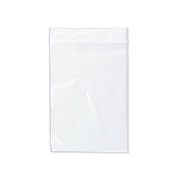 1000 x Clear Minigrip Bag 100x140mm (Interlocking seal for secure closure) GL-06