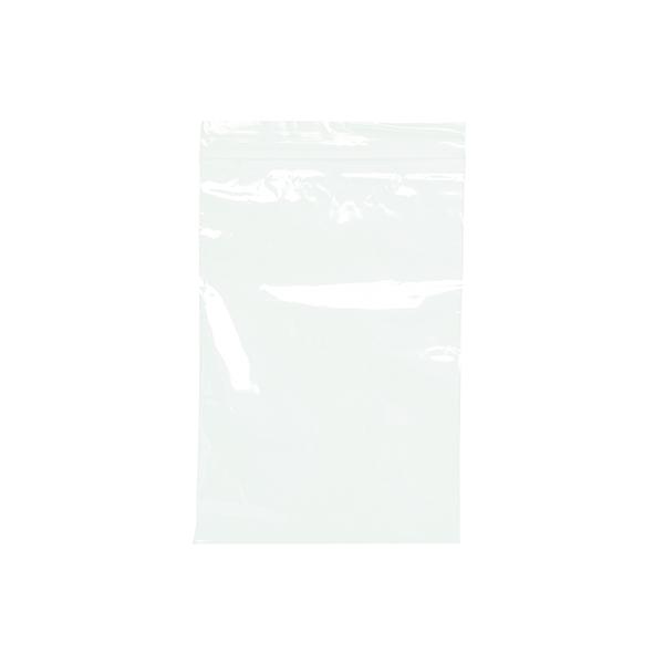 1000 x Clear Minigrip Bag 125x190mm (Interlocking seal for secure closure) GL-09
