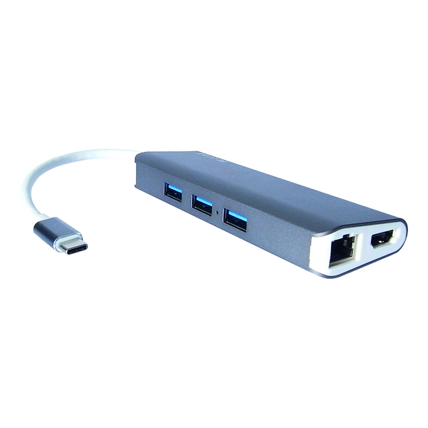 Connekt Gear USB C 8 in 1 Portable Hub 25-0100