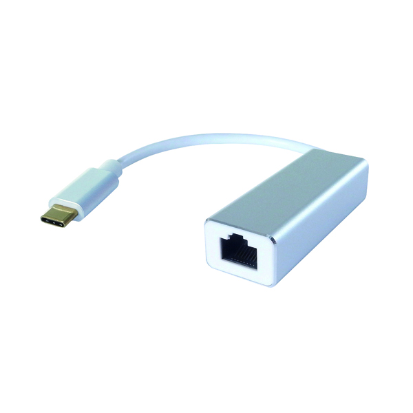 Connekt Gear USB C to RJ45 Cat6 Gigabit Ethernet Adaptor 26-2986