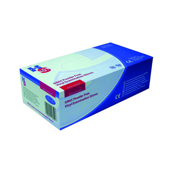 Handsafe Powder-Free Clear Large Vinyl Gloves (Pack of 1000) HEA00315