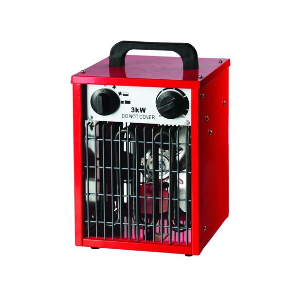 3kW Industrial Fan Heater (3 heat setting and adjustable fan speed) 42420
