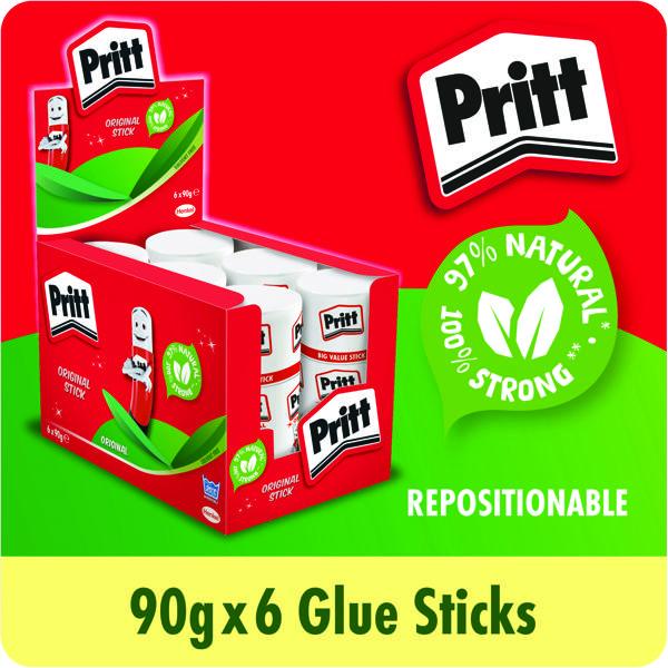 Pritt Stick Jumbo 90g (Pack of 6) 1479570