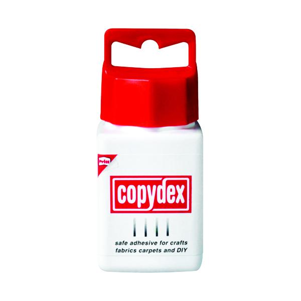 Copydex White Latex Adhesive 125ml (With twist-cap and brush applicator)
