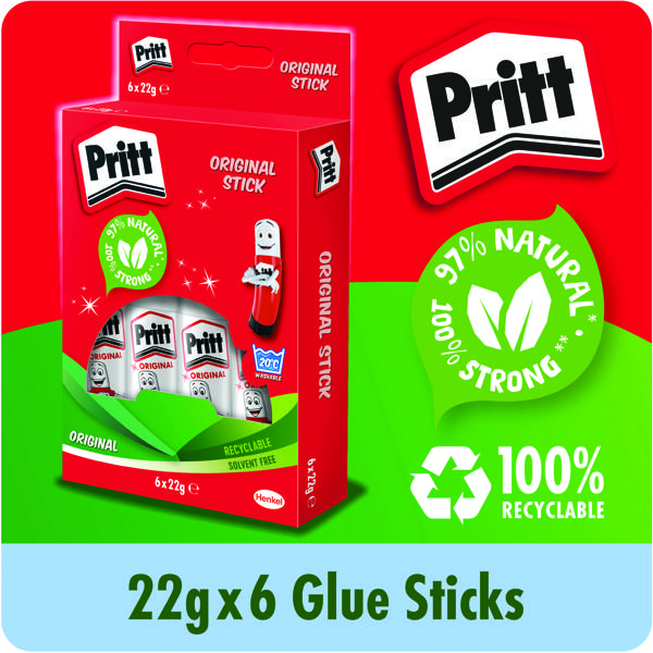 Pritt Stick 22g (Pack of 6) 10456071