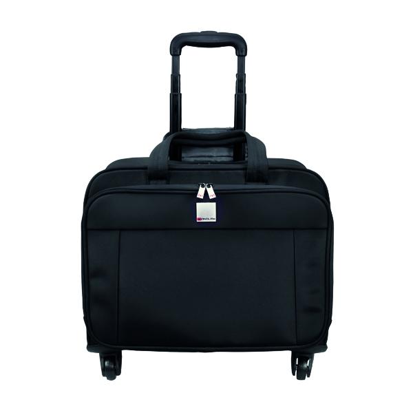 Motion II 4 Wheel Laptop Trolley Case Black (Dimensions: W445 x D230 x H320mm) 3208