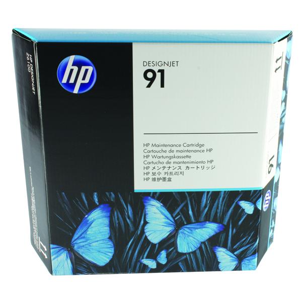 HP 91 Maintenance Cartridge (Helps clean printheads) C9518A