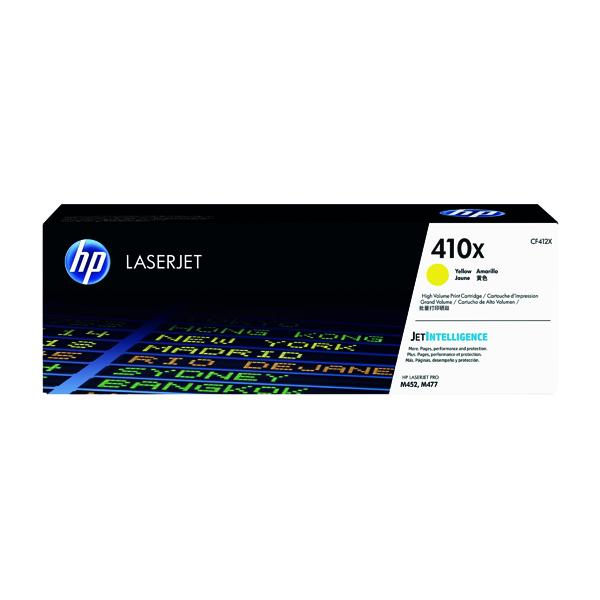 HP 410X High Yield Yellow Laserjet Toner Cartridge CF412X