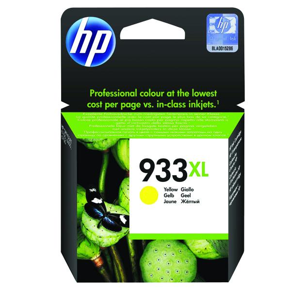 HP 933XL Yellow Officejet Inkjet Cartridge CN056AE