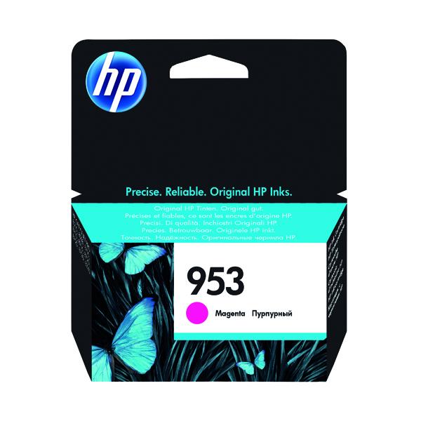 HP 953 Ink Magenta Cartridge (Standard Yield, 700 Page Capacity) F6U13AE
