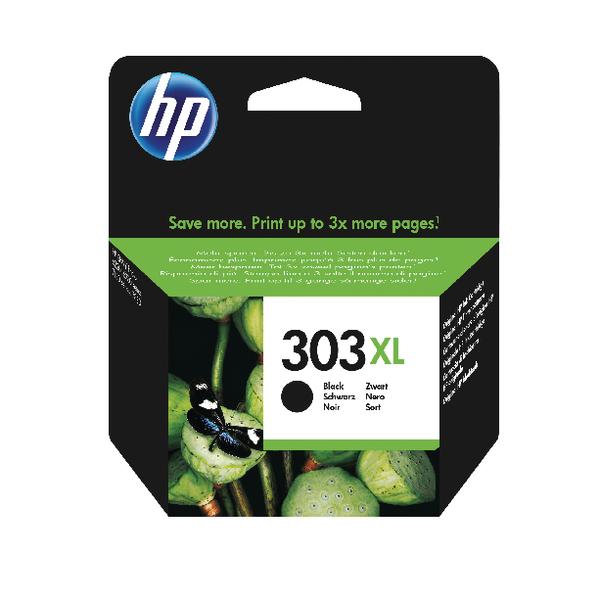 HP Original 303XL HY Black Ink Cartridge (Capacity: 415 pages) T6N04AE