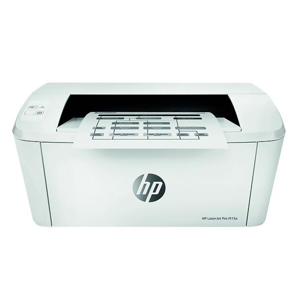 HP LaserJet Pro M15a Printer (Prints 19ppm) W2G50A