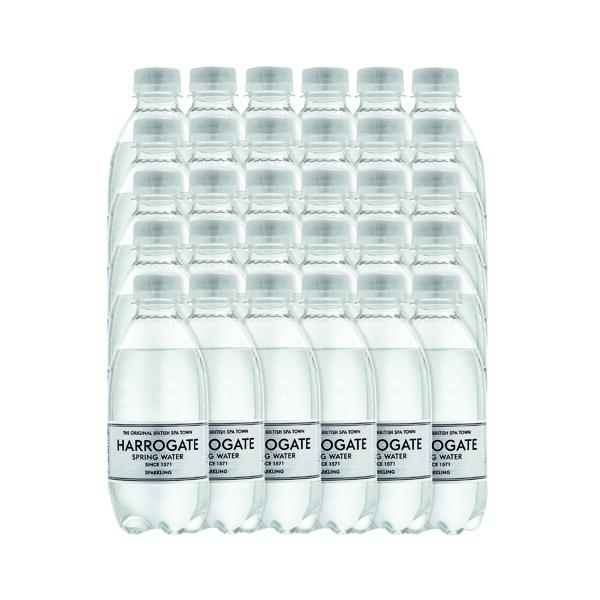 Harrogate Sparkling Spring Water 330ml Plastic Bottle (Pack of 30) P330302C