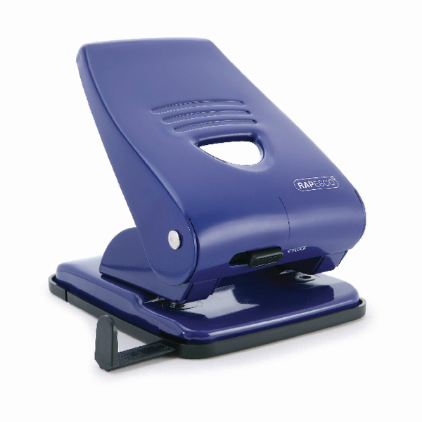 Rapesco 835 Two-Hole Punch Blue PF800AL1