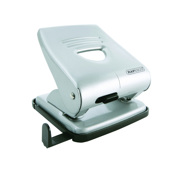 Rapesco 827 Hole Punch Silver (30 Sheet Capacity) 1023