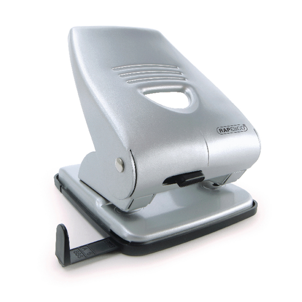 Rapesco 835 Hole Punch Silver (40 Sheet Capacity) 1024