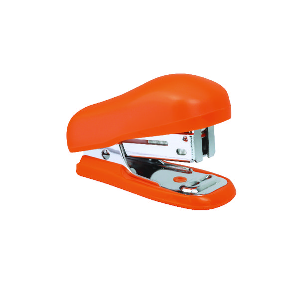 12 x Rapesco Bug Orange Mini Stapler (Capacity: 12 sheets of 80gsm) 1410