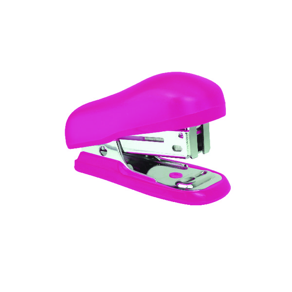 Rapesco Bug Mini Stapler Hot Pink (Pack of 12) 1412