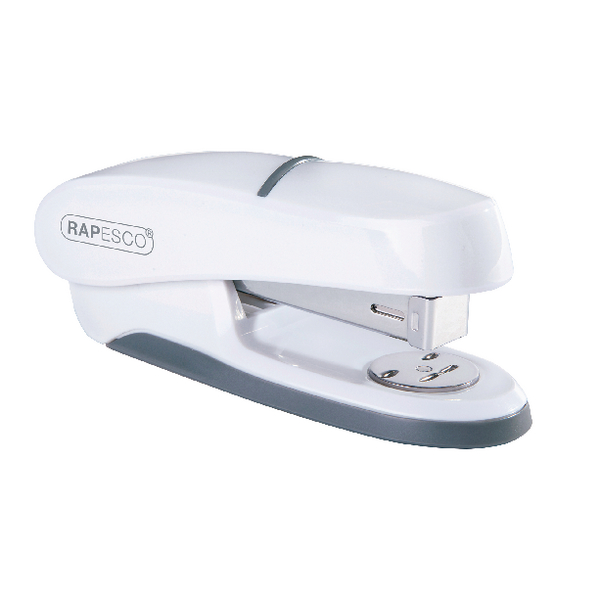 Rapesco P20 Shimma Half Strip Stapler White (Capacity: 20 sheets of 80gsm paper) 1273